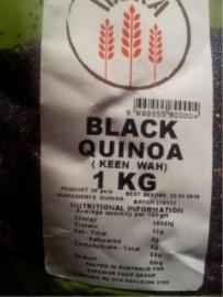BLACK QUINOA SEEDS 1KG