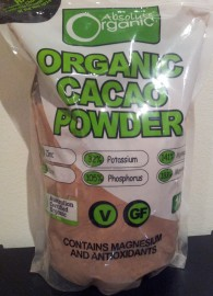 ORGANIC RAW CACAO POWDER - PERU 1KG